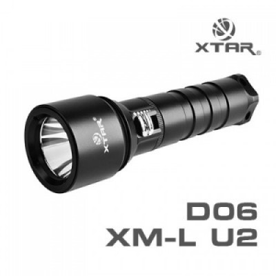 "Xtar D06 duiklamp  ""refurbished"""